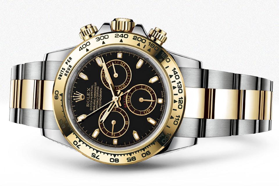 Часы Oyster Perperual Cosmorgaph Daytona – модели из этой коллекции сопровождают гонщиков-посланников Rolex на соревнованиях