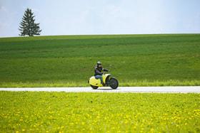 Электромотоцикл Johammer – разработка австрийских инженеров