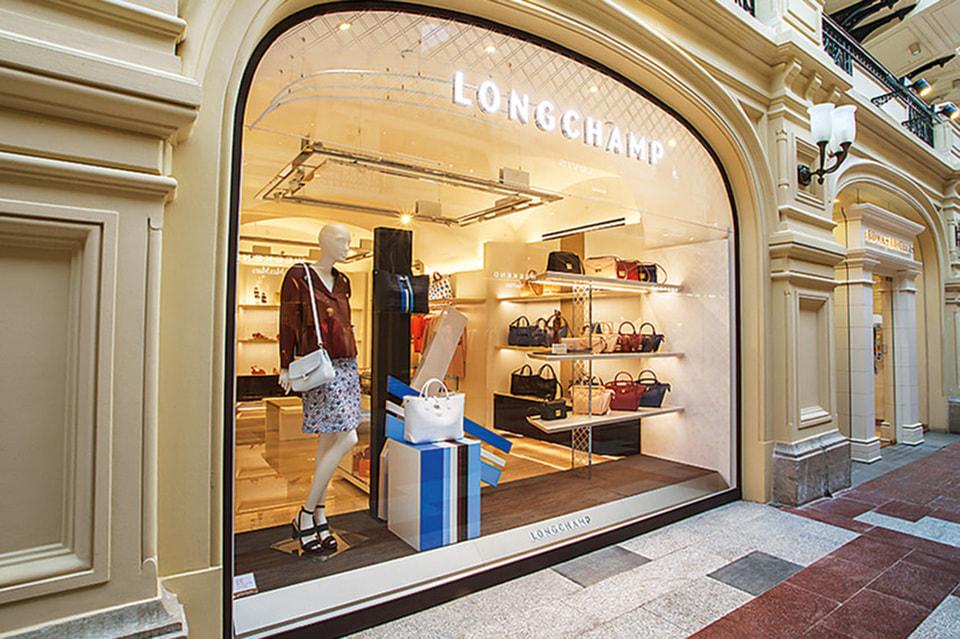 Longchamp закроет все свои магазины в России