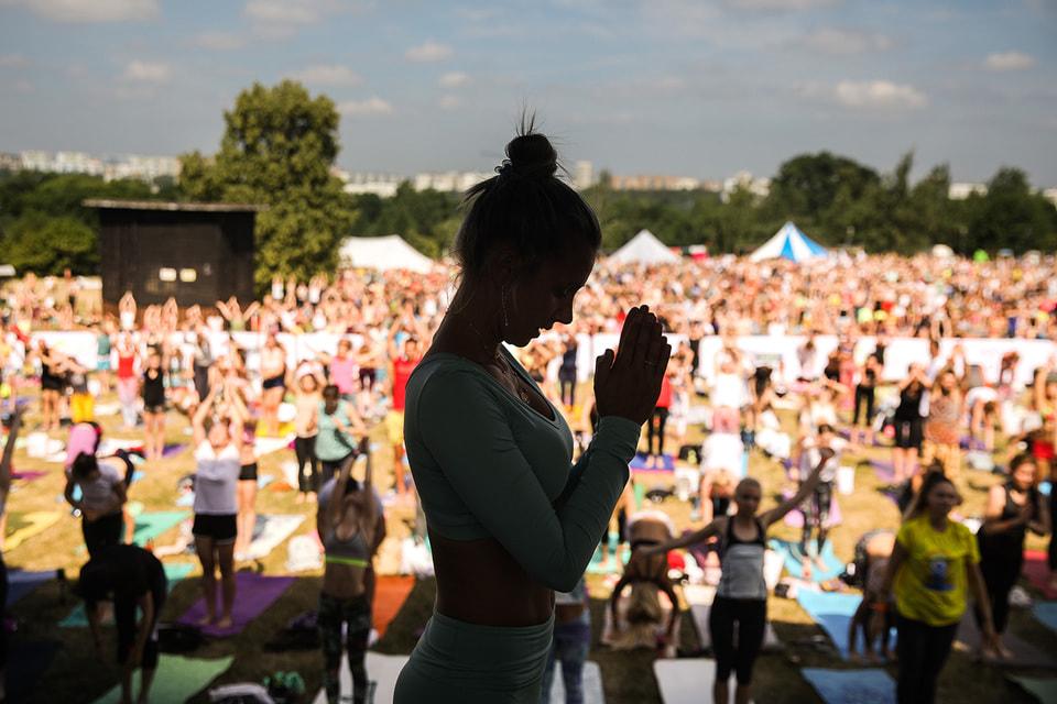 Organic People организует массовые мероприятия в сфере йоги в Москве и регионах