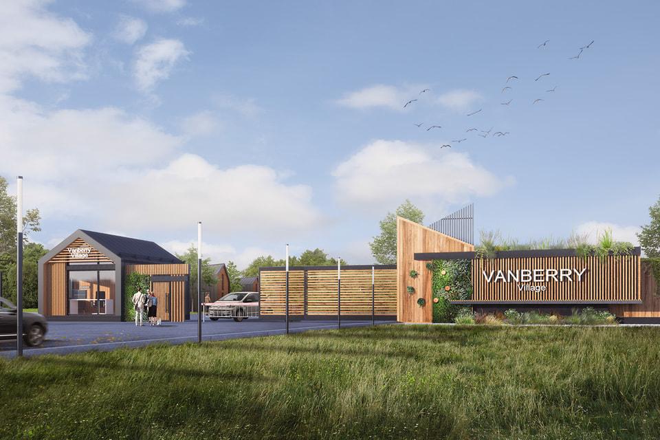 А вот так будет выглядеть йога-посёлок Vanberry Village