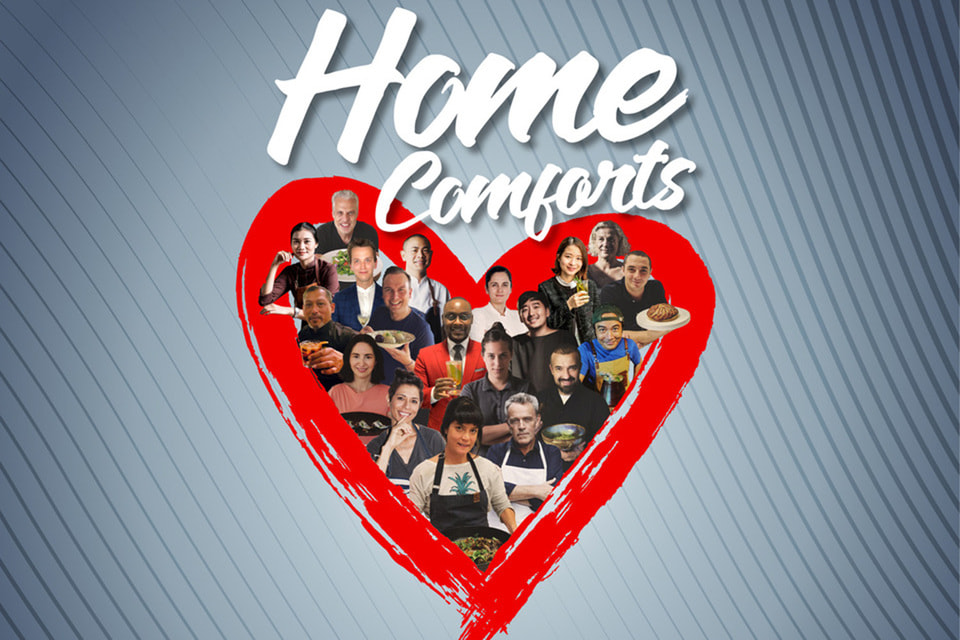 Home Comforts — первая электронная кулинарная книга от команды The World's 50 Best Restaurants