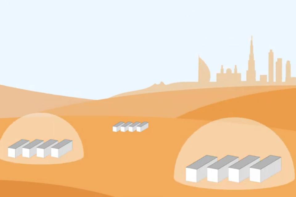 Модульный дизайн Acciona обладает потенциалом для быстрого возведения построек на случай роста населения Красной планеты