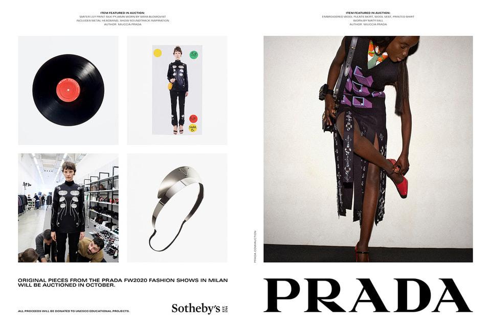 Необычный формат рекламной кампании – Prada вместе с Sotheby's