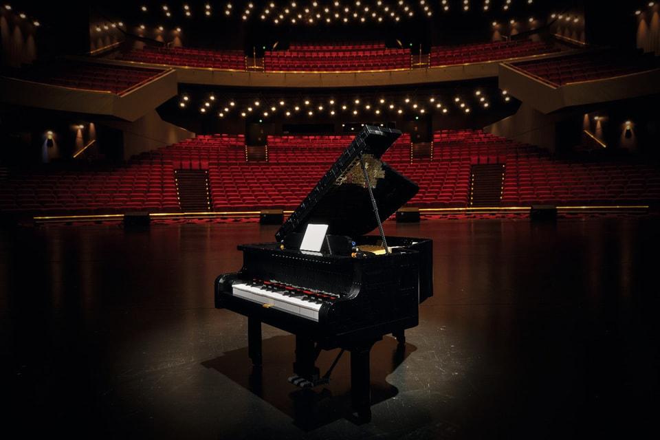 Новинка представляет собой точную копию настоящего рояля