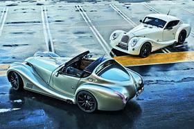 Современные авто в стиле ретро– визитная карточка Morgan Motor