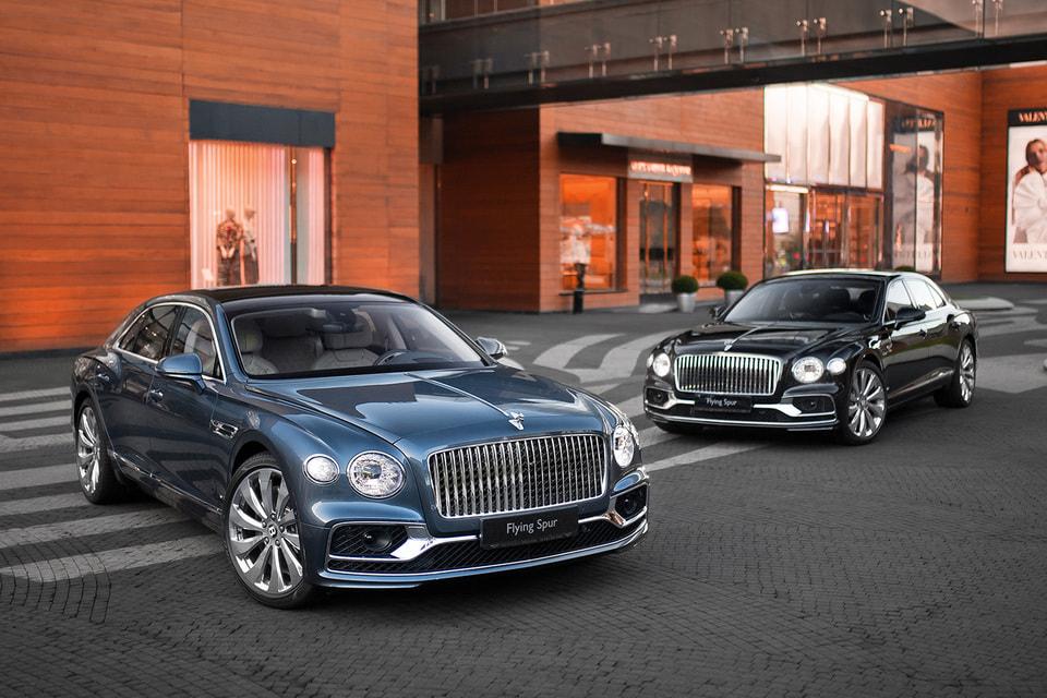 Bentley Flying Spur теперь доступен для покупки в шоурумах «Bentley Москва»