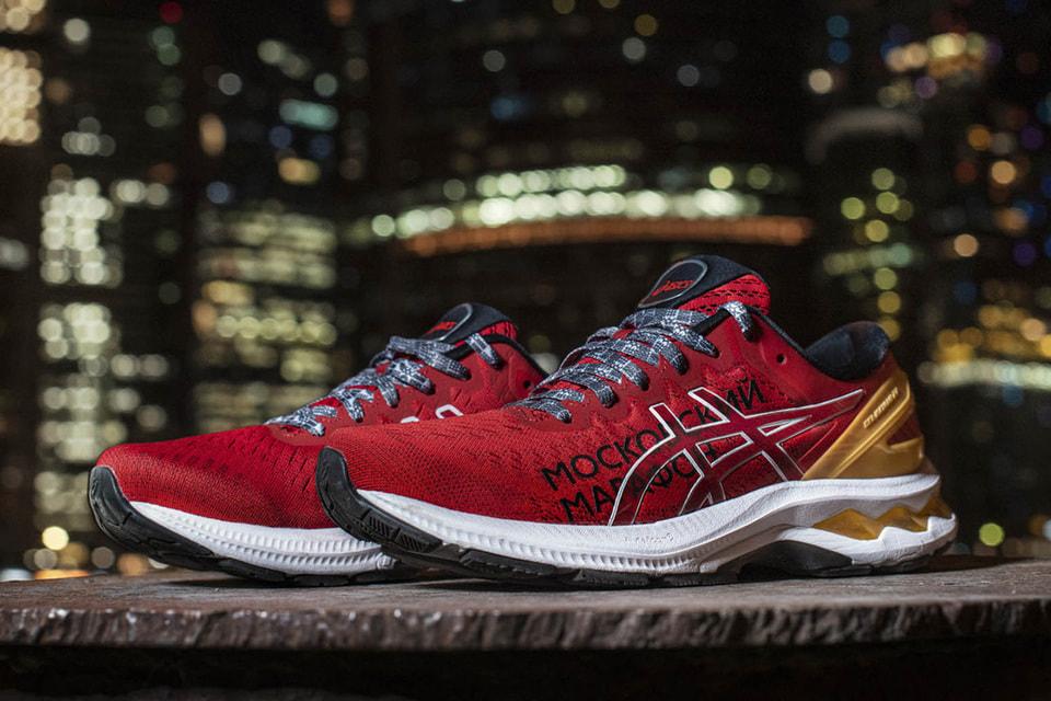 Беговые кроссовки Asics Gel-Kayano 27 выпущены в честь главного российского забега