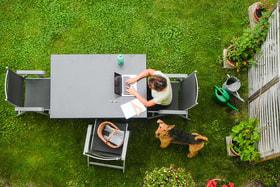 49% участников опроса раньше никогда не работали из дома. Сейчас они планируют работать из дома чаще даже после ослабления пандемии