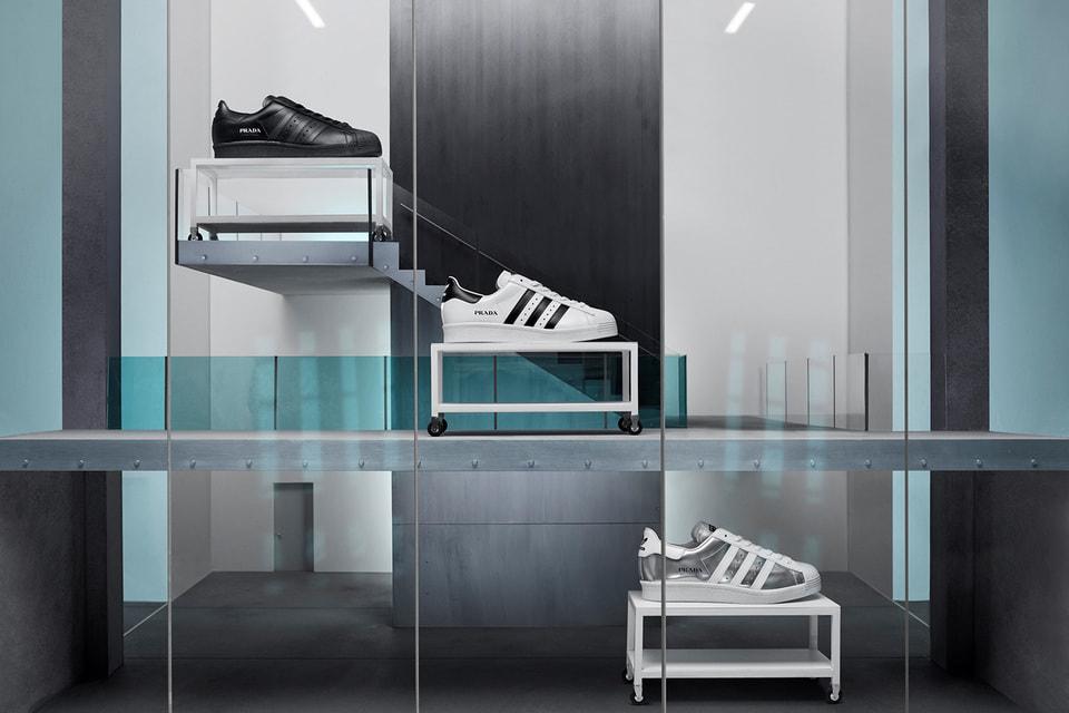 Кроссовки Prada Superstar созданы по мотивам модели 1969 года