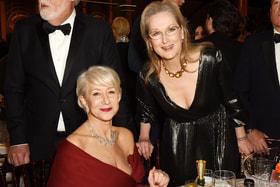 Хелен Миррен и Мерил Стрип в платьях Dior Haute Couture были одними из самых элегантно одетых актрис церемонии «Золотой Глобус» 2020