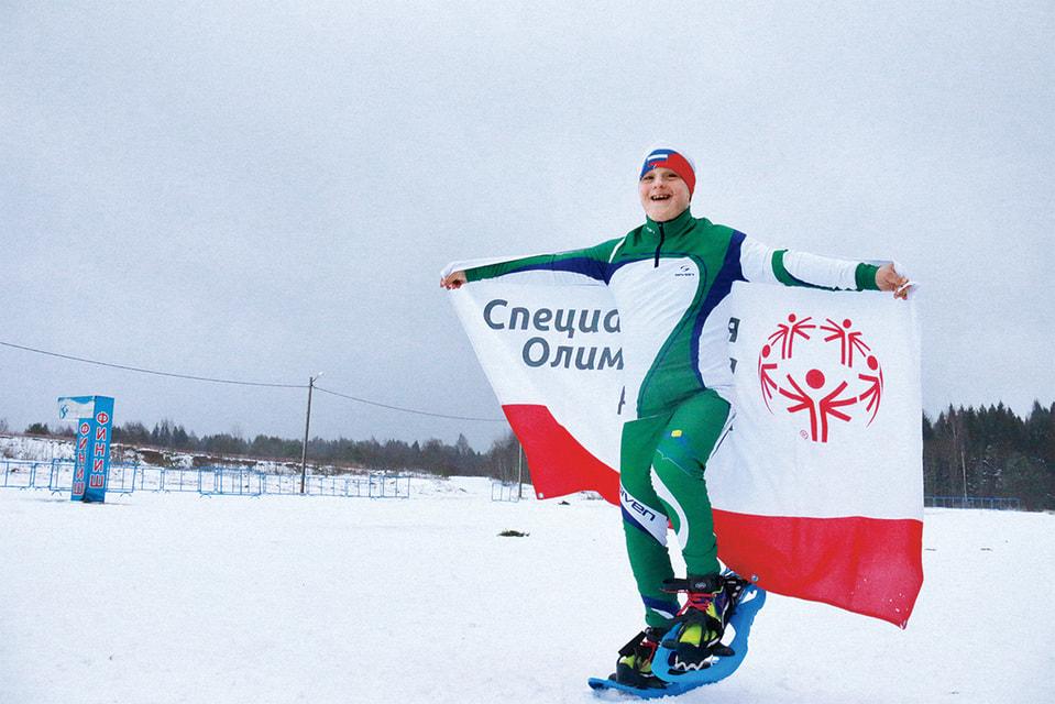Призер всемирных зимних игр Специальной Олимпиады Артем Серов