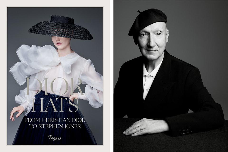 Обложку книги украшает современная версия шляпки образа 1947 года – такой ее сотворил Стивен Джонс
