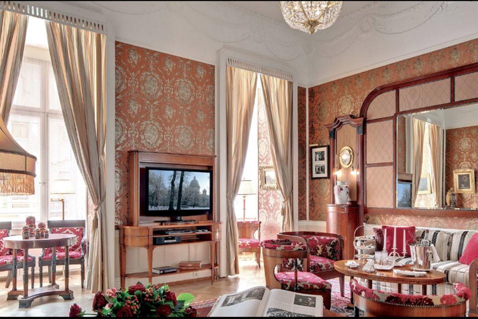 Сьют, названный в честь Федора Лидваля — архитектора, который наряду с Карлом Росси приложил руку к созданию отеля
