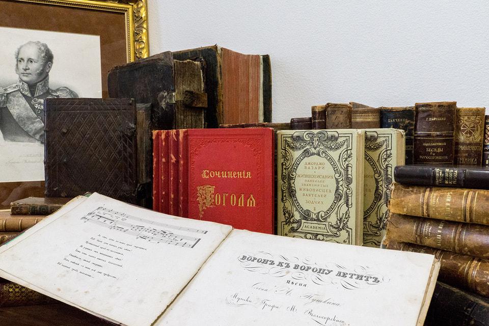 Впервые на одном аукционе собраны книги, которые были опубликованы еще при жизни великих писателей и поэтов