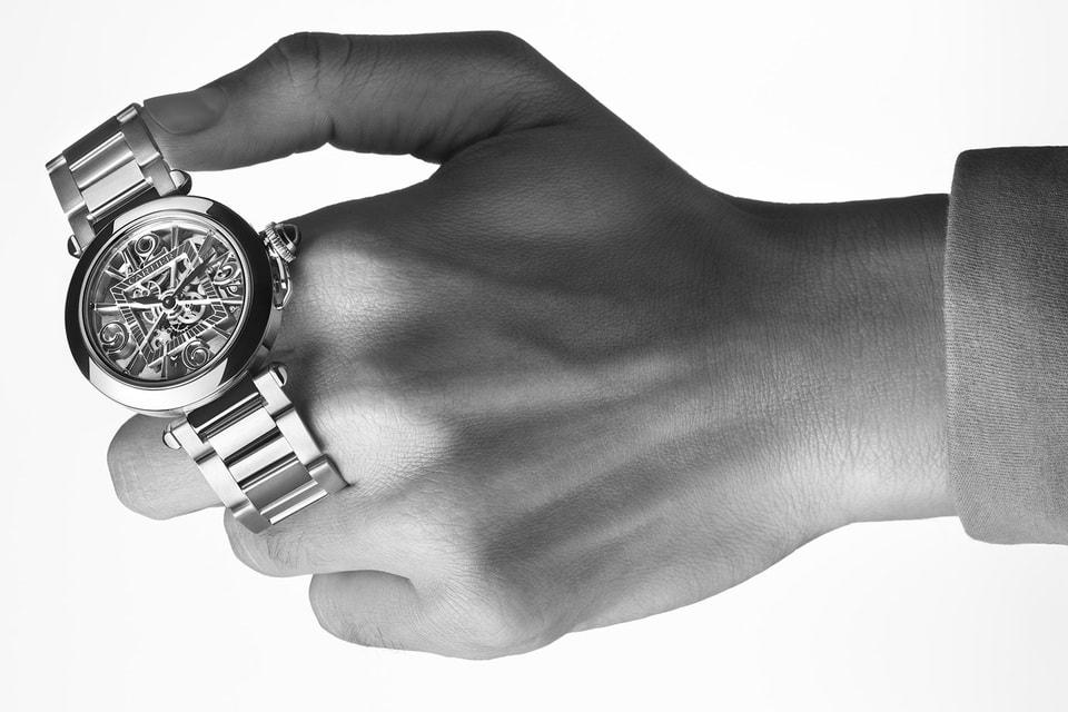 Часы Pasha de Cartier в объективе фотографа Раймонда Майера