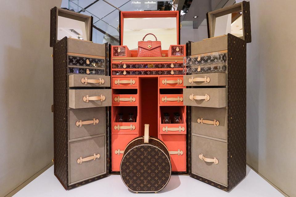 Сундук Louis Vuitton для аксессуаров, украшений и духов существует в единственном экземпляре, но может быть создан на заказ