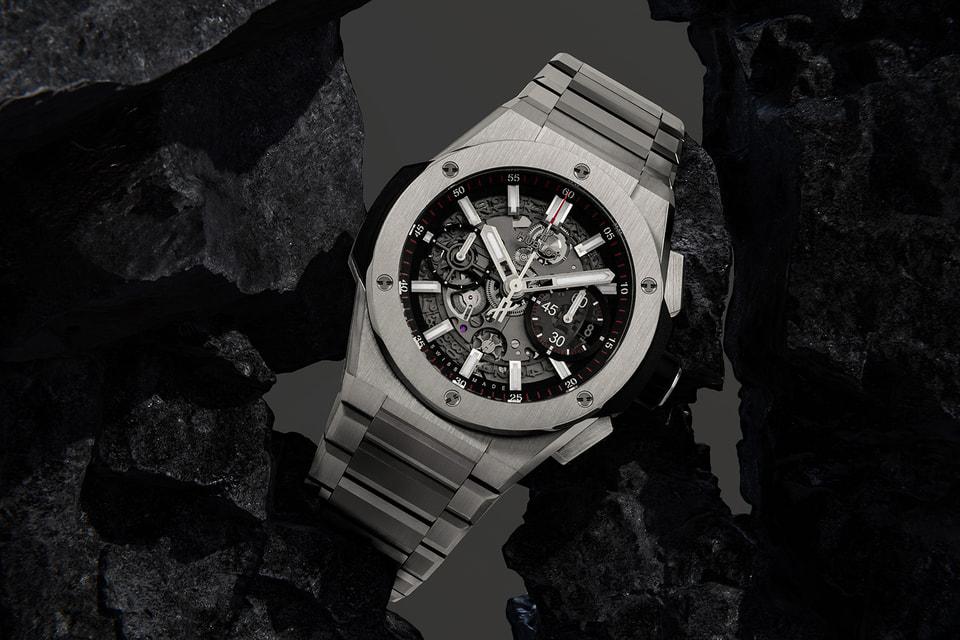 Big Bang Integral – первые часы Hublot на металлическом браслете из King Gold или титана, который интегрирован в корпус и являет с ним единое целое
