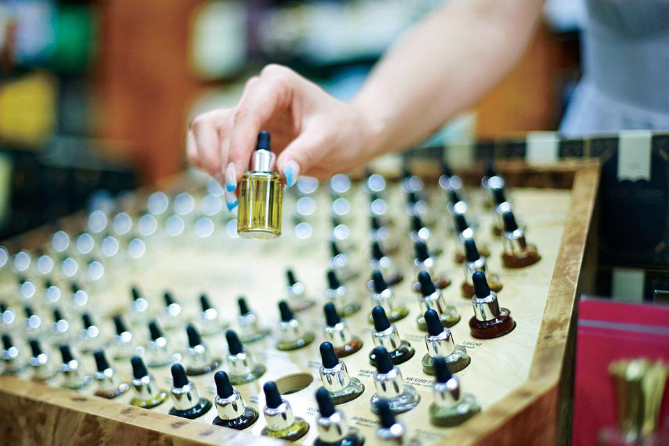 Новые технологии сделали возможным появление удивительных ароматов