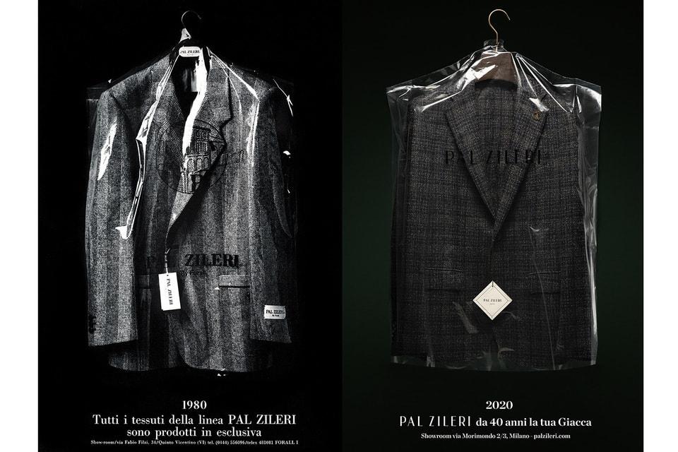 По случаю 40-летнего юбилея Pal Zileri представил рекламную кампанию с использованием архивных образов