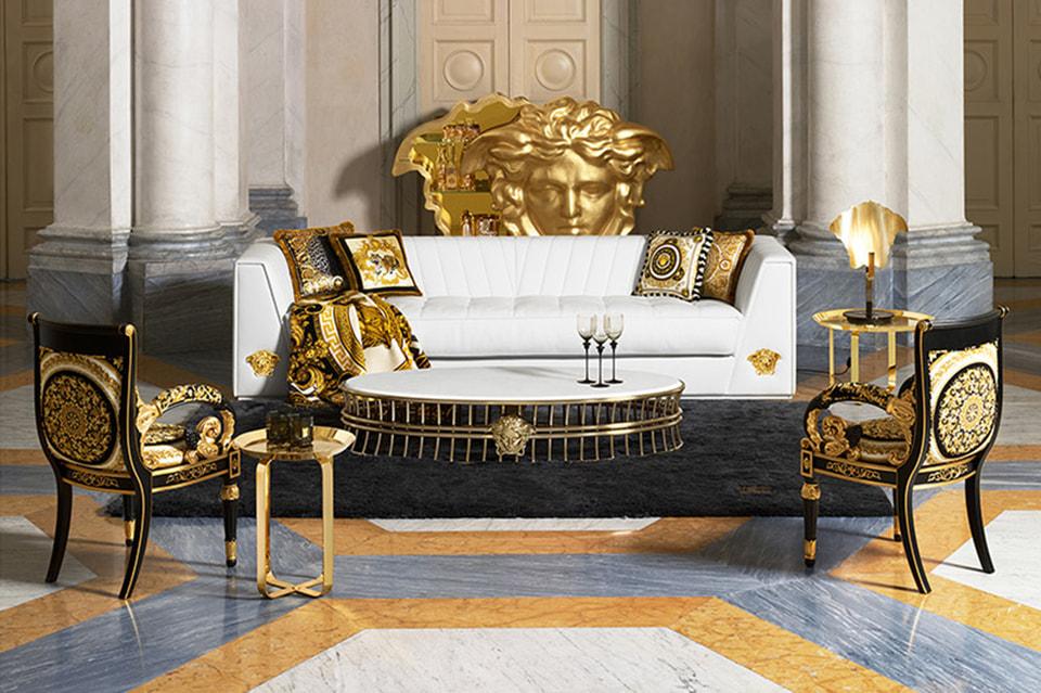 Мебель Versace Home будет продаваться через недавно созданную глобальную сеть