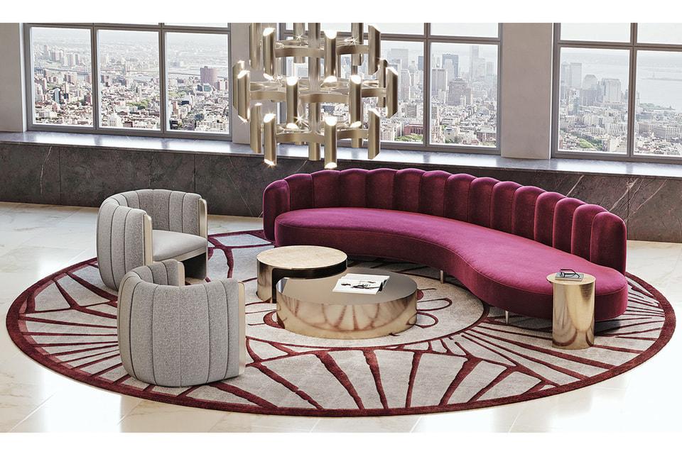Мебель для гостиной от Elie Saab Maison вдохновлена нарядами haute couture Дома Elie Saab