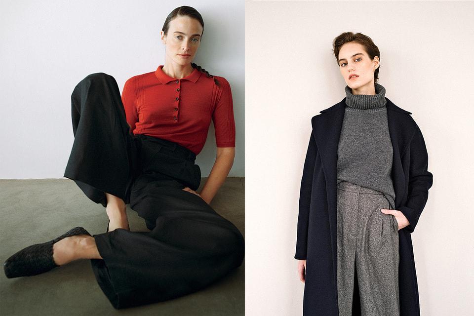 Слева направо: внесезонная коллекция Estre 2020/21;коллекция Estre, осень-зима 2020/21