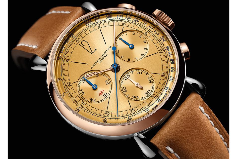 Специально к открытию музея мануфактура создала часы [Re]master01 – современную интерпретацию хронографа Audemars Piguet 1943 года