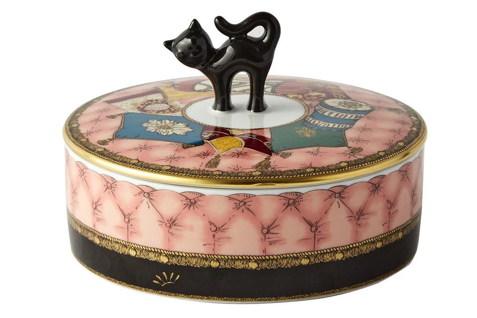 Новинка в коллекции Totem – шкатулка с изображением кота