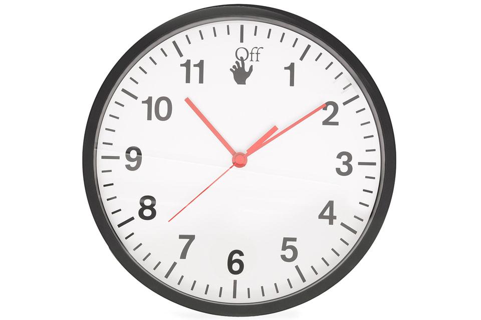 Настенные часы Off-White