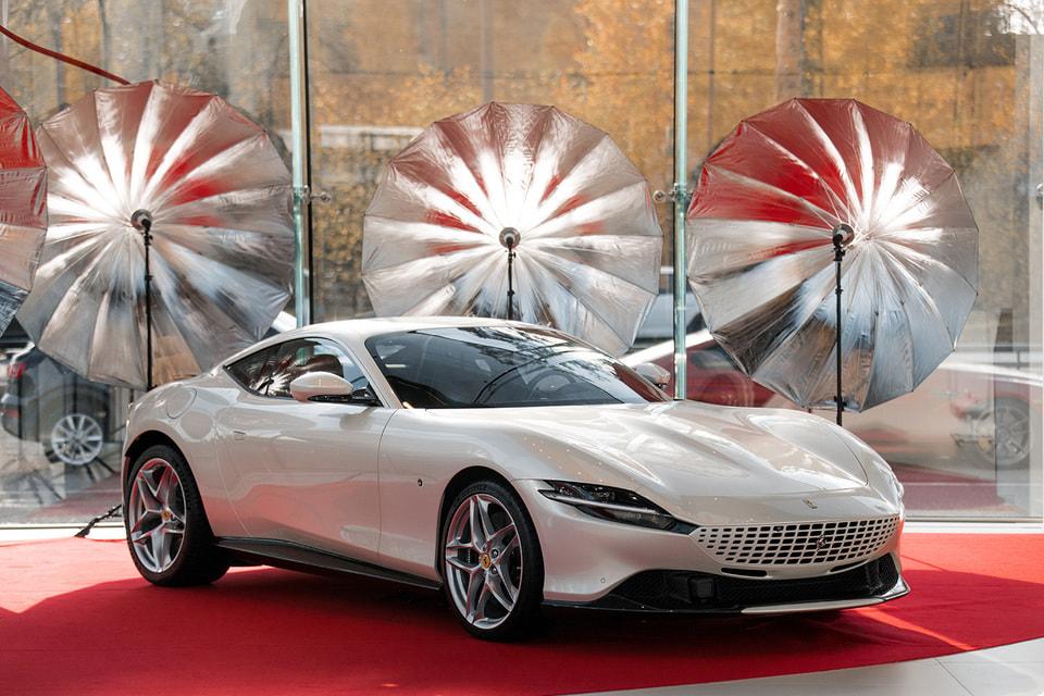 Ferrari Roma, спортивное купе класса gran turismo (620 л. с.)