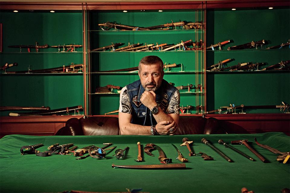 Михаил Лифшиц и его коллекция короткоклинкового оружия