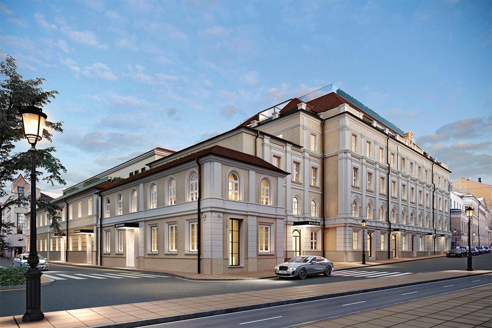 Исторические фасады здания XIX века сохранены