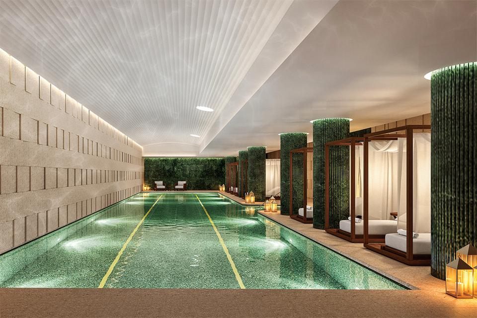 Куслугам владельцев резиденций – бассейн, а также все сервисы отеля