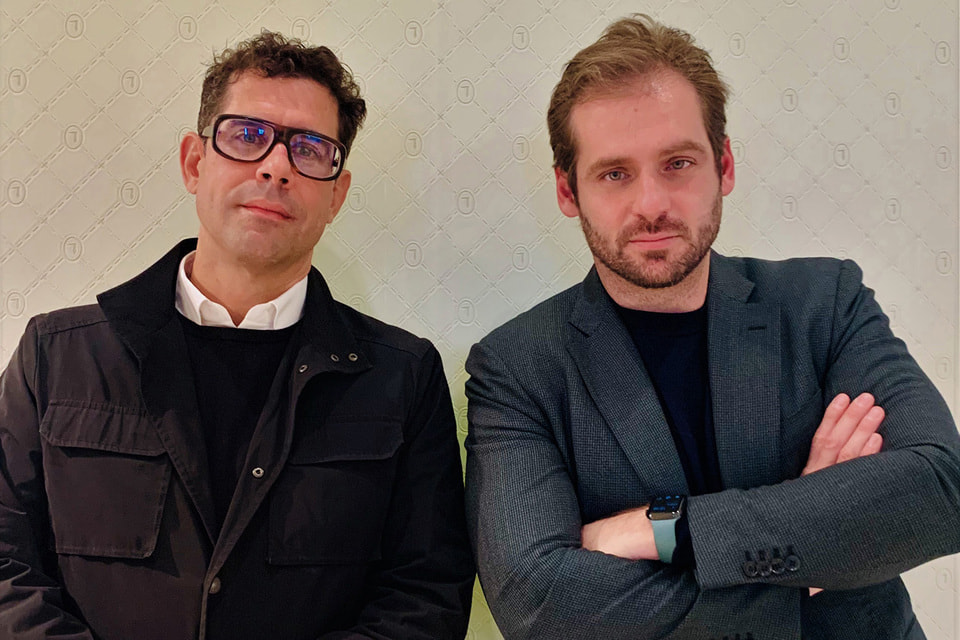 Себастьян Зуль (слева) – CEO Trussardi и Томазо Труссарди, президент Trussardi