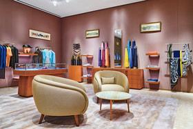 Магазин Hermes в галереях «Времена года» – третий по счету бутик французского Дома в Москве
