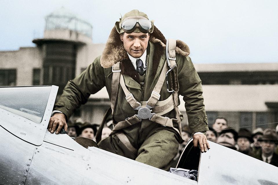 Рекорд кругосветного перелета, который поставил пилот и бизнесмен Говард Хьюз, был зафиксирован на оборудовании Longines
