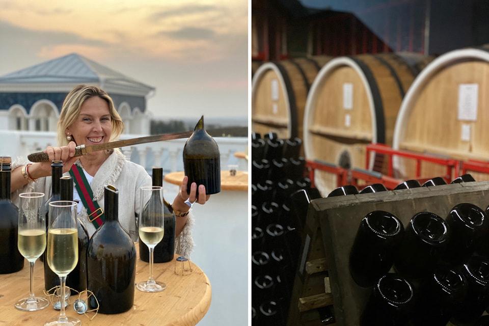 «Путешествие по российским винодельням — хорошая идея. Особенно сейчас», – считает наша героиня