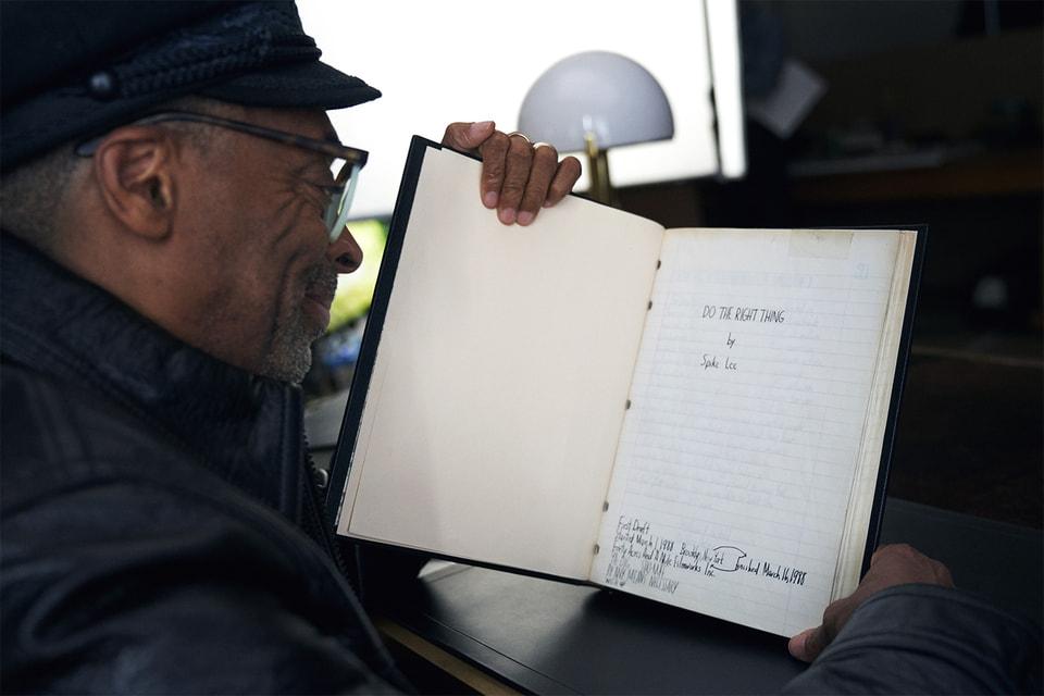 Одновременно со съемкой кампании Montblanc режиссер Спайк Ли начал свои новые заметки о жизни под названием Do the Right Thing