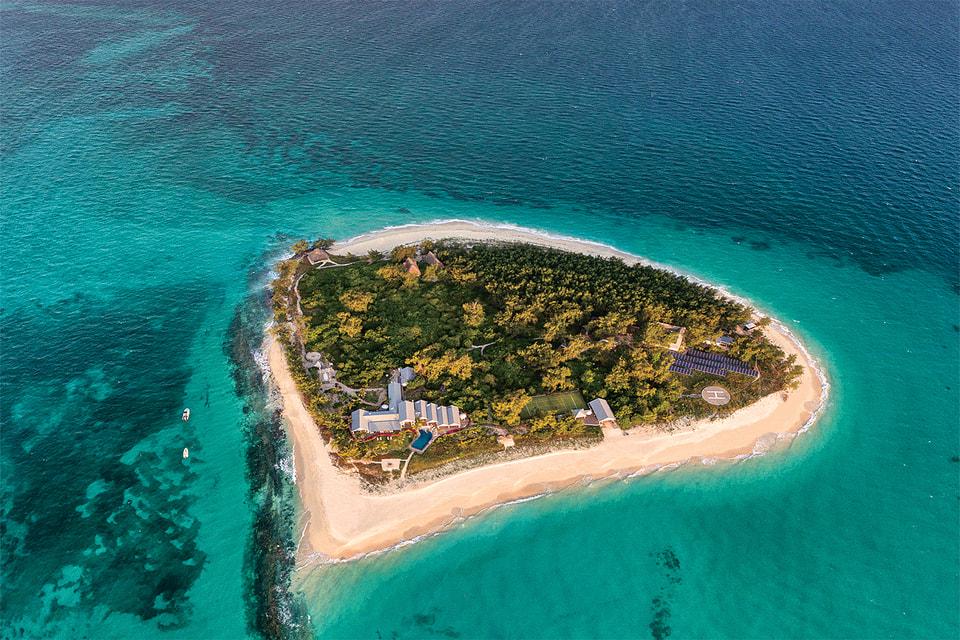 Остров Thanda Island имеет площадь всего 8 на