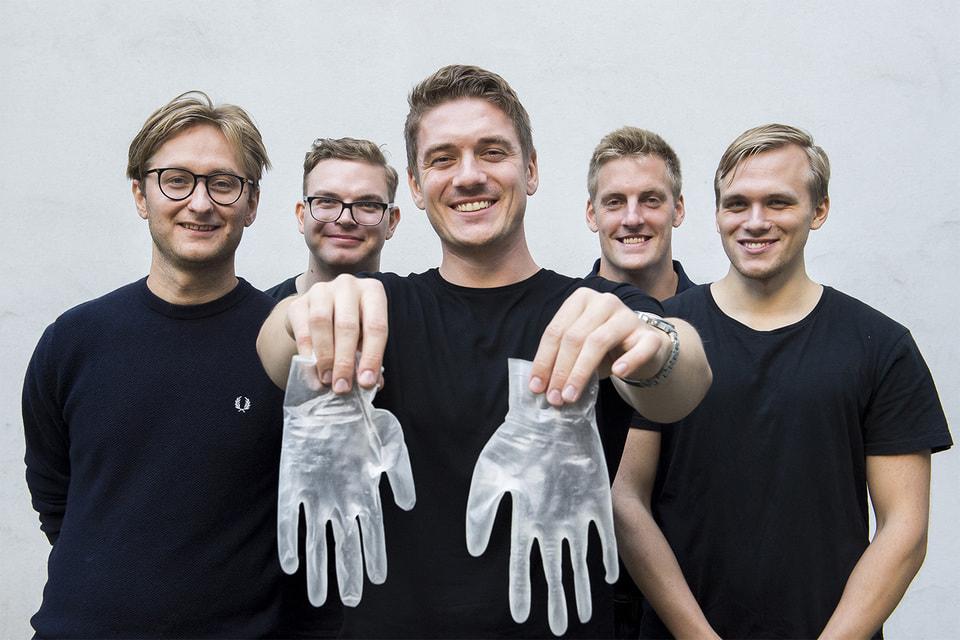 Среди разработок участников конкурса James Dyson Award– одноразовые защитные перчатки, которые подвергаются вторичной переработке