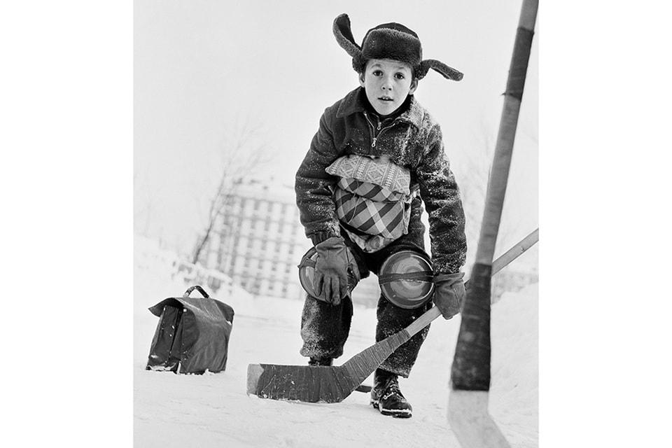 Владимир Лагранж. Вратарь. 1961