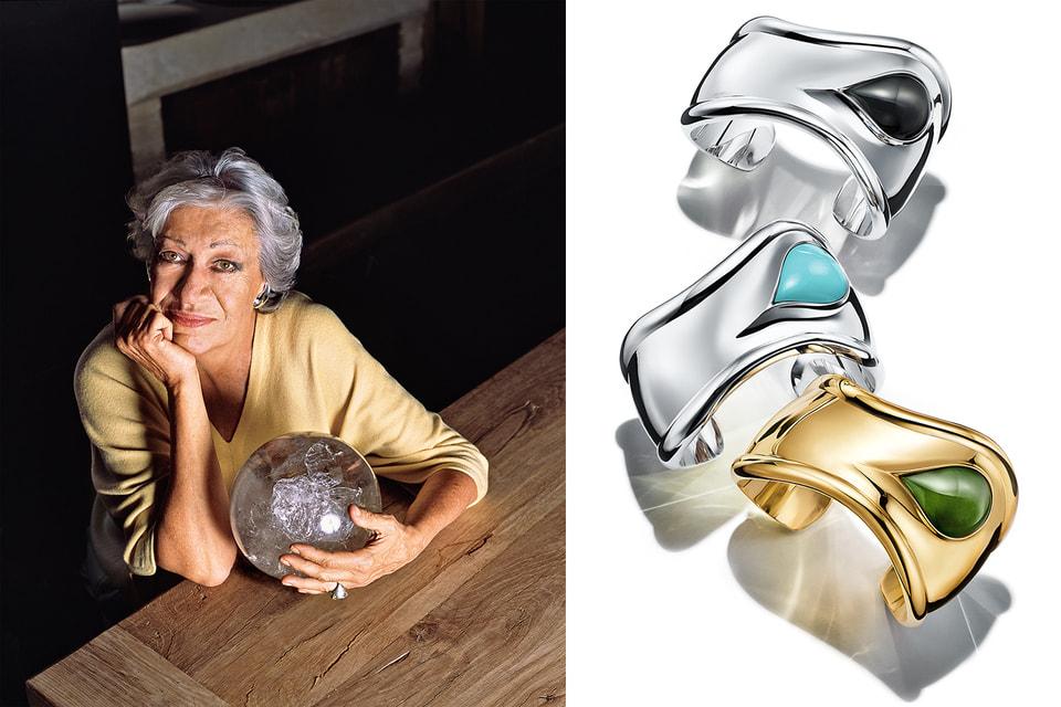 Дизайнер Tiffany & Co. Эльза Перетти и ее новые браслеты Bone с бирюзой и нефритом