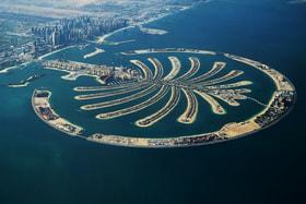Дубай (ОАЭ) – лидер по количеству искусственных островов