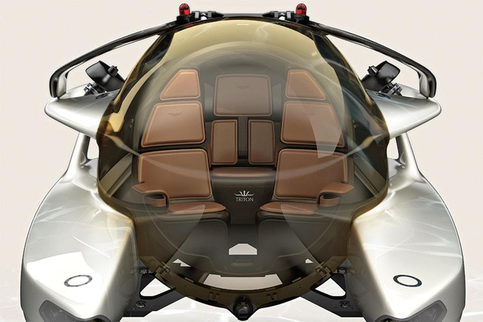 Project Neptune разработан вколлаборации с Aston Martin – легендарным британским производителем спорткаров и любимой марки агента 007 Джеймса Бонда.
