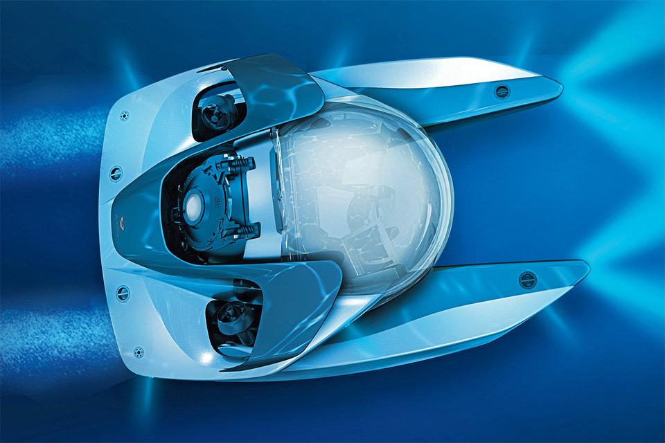 Если у Джеймса Бонда в кино когда-нибудь появится компактная субмарина, тонепременно такая