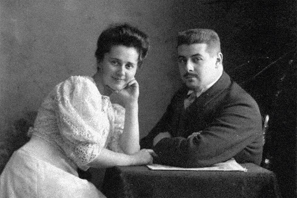 Елизавета Федоровна и Михаил Михайлович Родзянко