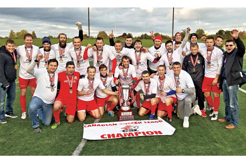 В 2018 г. ФК «Воркута» стал полным чемпионом Канадской футбольной лиги CSL