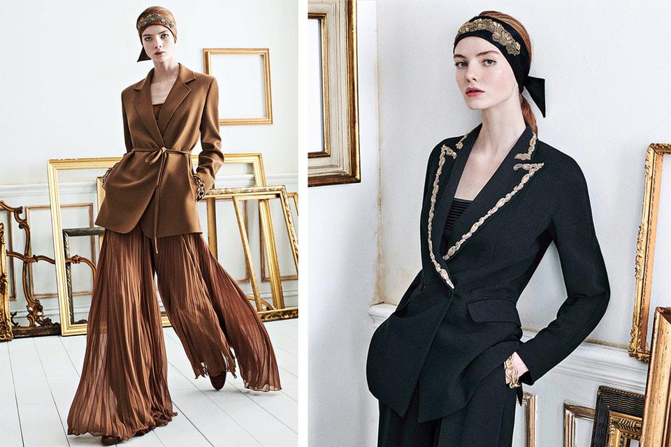 Модели в одежде из коллекции Max Mara Resort 2021