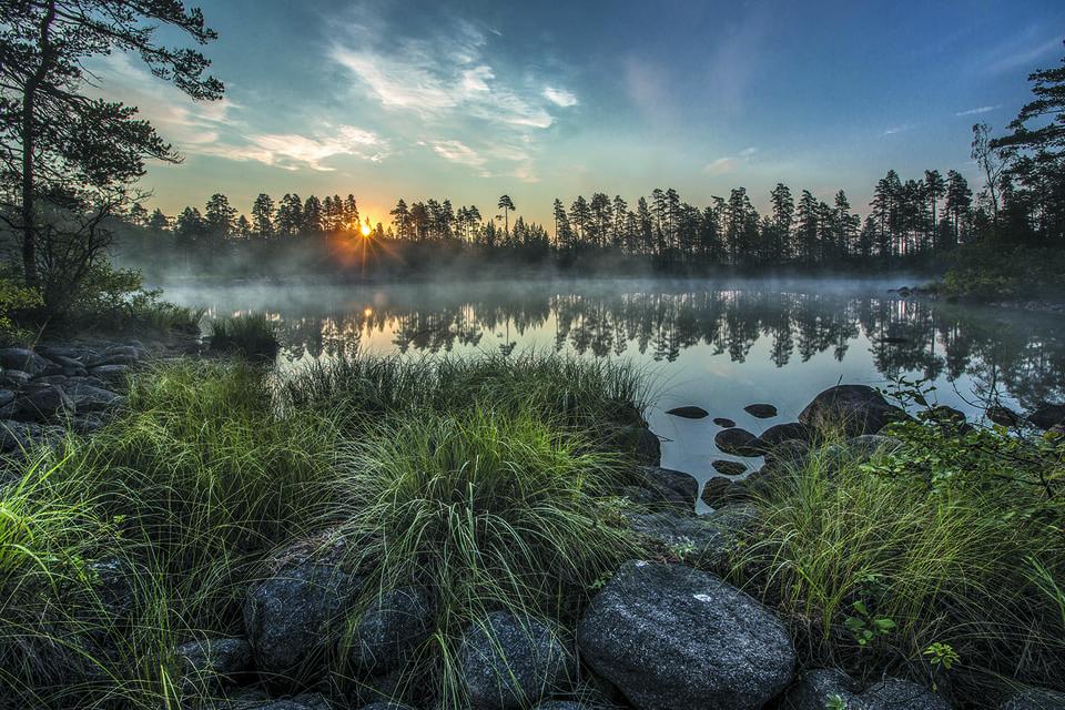 Лоухенпянламет — одно из 30 тысяч чистейших озер